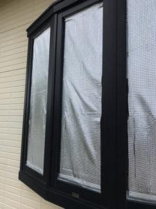 暑さ対策後の出窓