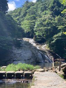 粟又の滝渓流遊び場