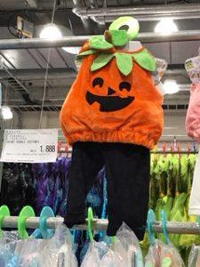 かぼちゃの衣装