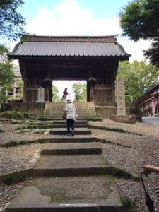 笠森寺の入り口