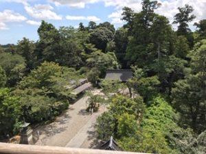 笠森寺上からの眺め