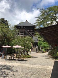 国宝の笠森寺