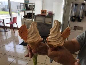 めんたいソフトクリーム