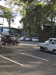 玉前神社駐車場