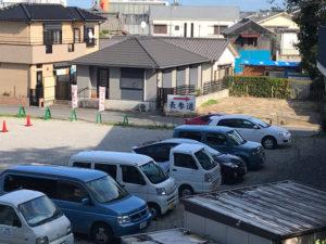 玉前神社駐車場上から見た写真