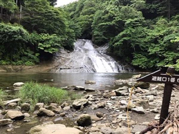 養老渓谷の粟又の滝