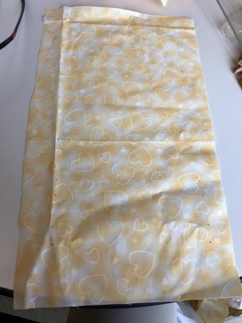 35×20センチの薄い布